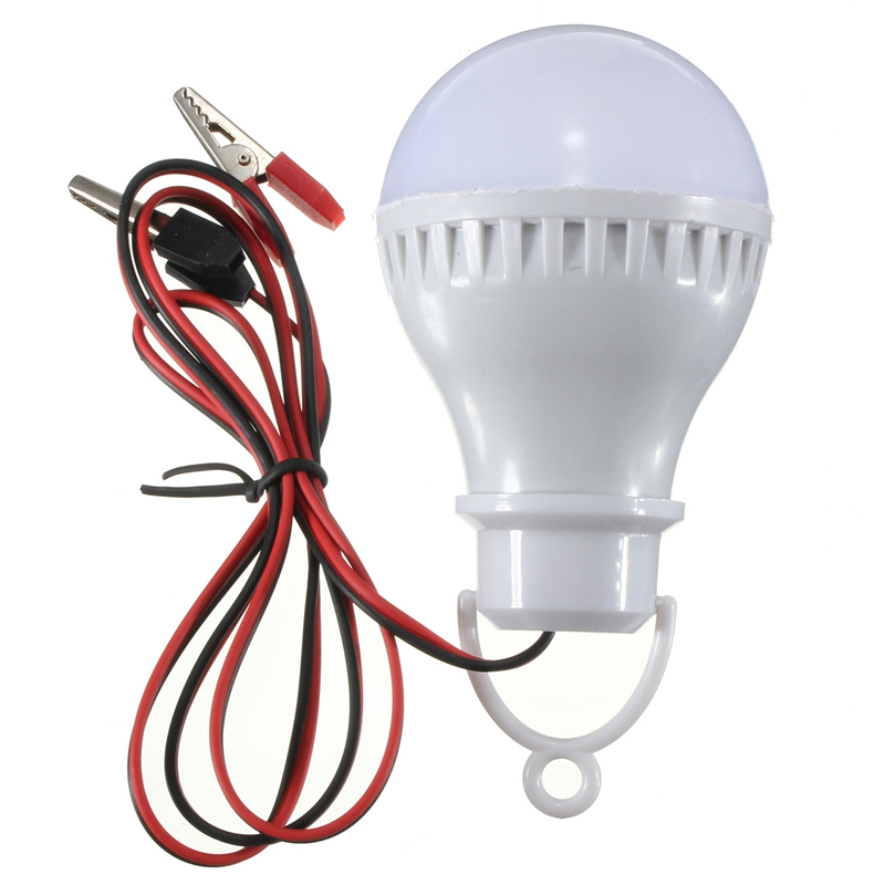 The Best Price E27 LED Bulbs Lamp Home Camping Hunting Emergency Outdoor Light DC12V(China (Mainland))