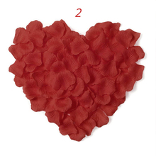 New Arrival 2017  Cheap 1000pcs/lot Wholesale Wedding Decorations Fashion Wedding Rose Petals Artificial Flowers Polyester(China (Mainland))