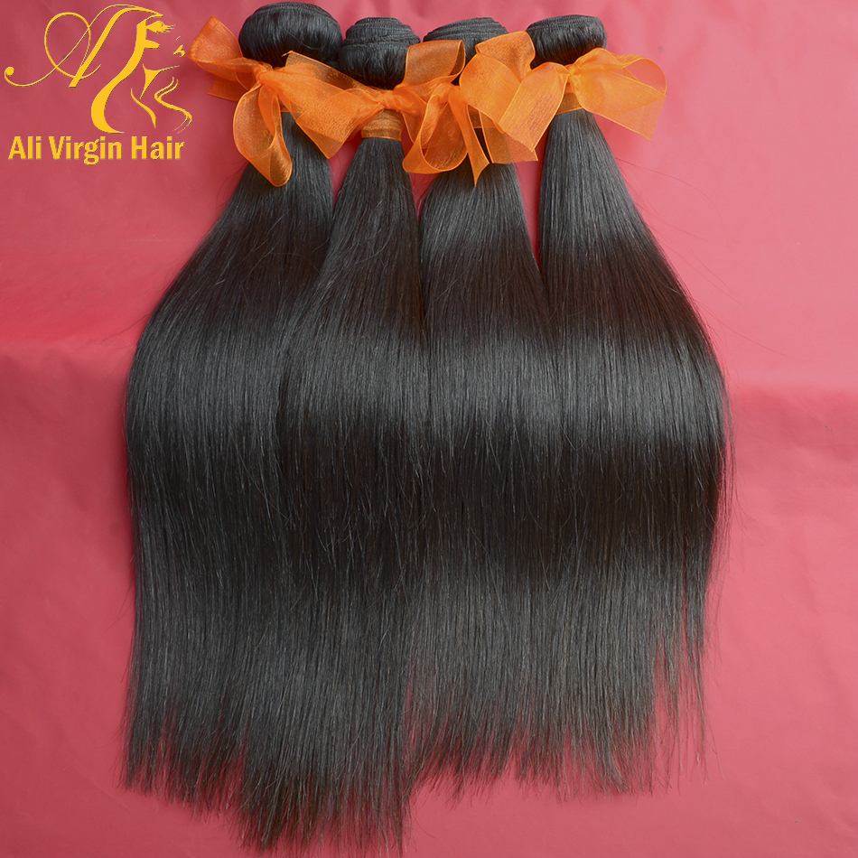 Indian Hair Products By Professional Design 10Pcs/lot Top Quality Human Hair Free Shipping 6A Indian Straight Hair Extension(China (Mainland))