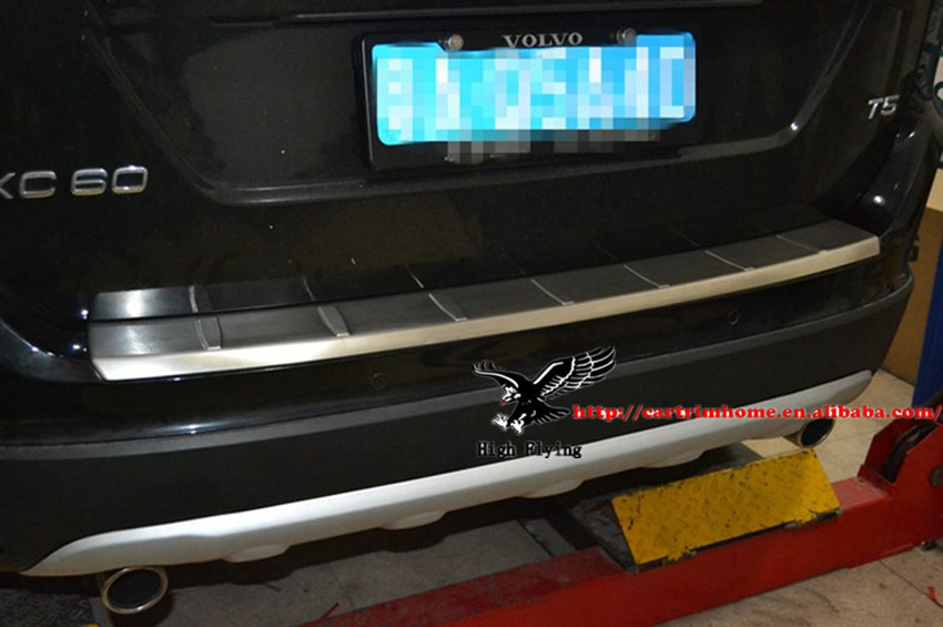 Stainless Steel Mirror Style Rear Trunk Lid Strip Trim For Volvo XC60 2008 2009 2010 2011 2012 2013<br>