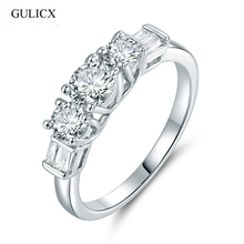 Buy GULICX 2017 Rings Women Valentine Present Fashion Spiral CZ Crystal Gold-color Ring Cubic Zirconia Promise Jewelry R138 for $2.02 in AliExpress store