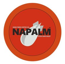 Napalm Coffee DARK ROAST Keurig K Cups 12 Count