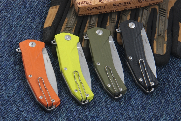 Buy New tactical folding knife Sleipner Blade G10 handle KUR outdoor camping hunting knives survival pocket knife utility hand tool cheap