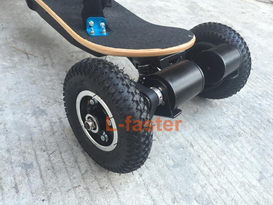 electric off road skateboard belt drive -1-a