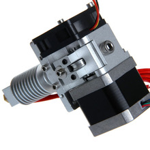 GT8 Short Distance geeetech 3d printer extruder j-head nozzle 0.3/0.35/0.4/0.5mm  for 1.75/3mm PLA/ABS filament free shipping