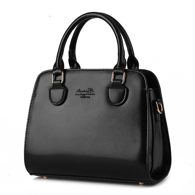 Versatile leather women messenger bag women leather handbags casual ladies bag PU Shoulder Bag Zipper fashion female Handbags36
