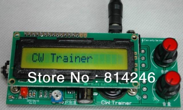 Free shipping ,,CW practice decoding one machine / Morse code audio decoding / Morse code practice one machine