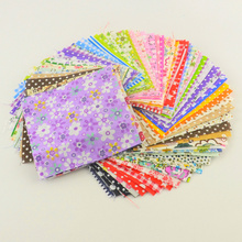 Buy 30 pieces/lot 10cmx10cm charm pack cotton fabric patchwork bundle fabrics tilda cloth sewing DIY tecido quilting for $1.49 in AliExpress store