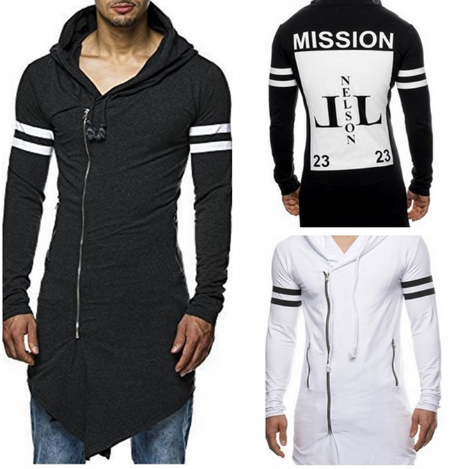 2016 New Brand Fashion Harajuku Assassin Creed Eminem Hoodies Jacket White Polo Oblique Zipper Mens Hoodie Sports Suits Clothing(China (Mainland))