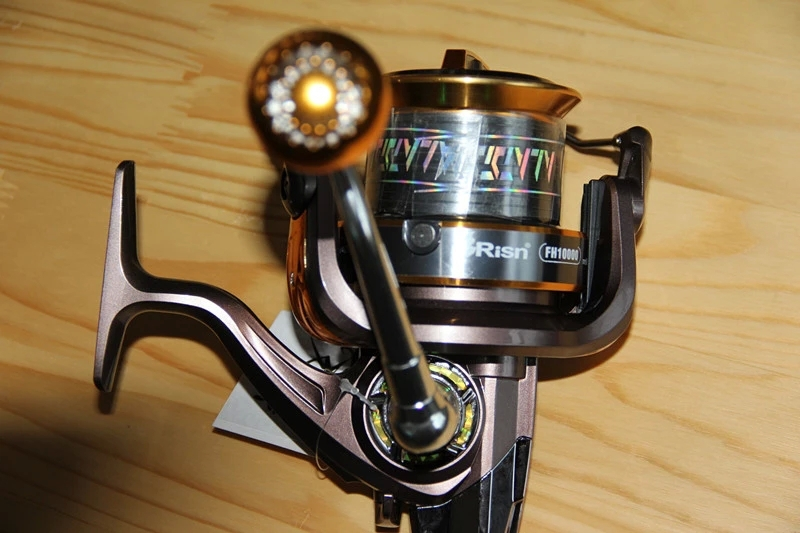 FH10000 9000 8000 4.1:1 large capacity spinning fishing reels all metal double line cup carp feeder 14+1 bearings fishing reel(China (Mainland))