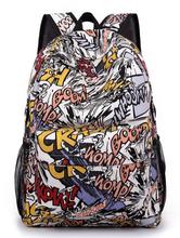 2015 Fashion Cartoon Versatile Male Female Students Backpacks Anime girls Printed Bag Boy Daily School Mochila Infantil Backpack