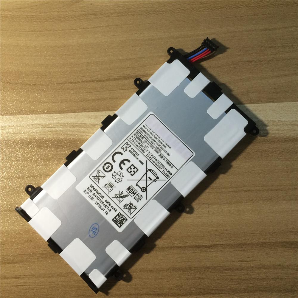Гаджет  SP4960C3B (14.8Wh) 4000mAh New Original Replacement Battery For Samsung Galaxy Tab 2 7.0 P3100 P6200 P3110 Galaxy Tab 7.0 Plus None Бытовая электроника