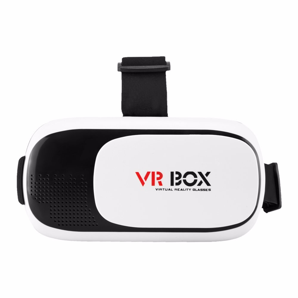 Head Mount Plastic VR BOX 2.0 Version Virtual Reality Glasses Google Cardboard for 3.5″ – 6.0″ Smart Phone and + Remoter gamepad