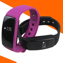 Buy EMI ID107 Bluetooth Smart Bracelet Heart Rate Monitor Wristband Fitness Tracker Smart Band iPhone Android Phone Smartband for $27.49 in AliExpress store