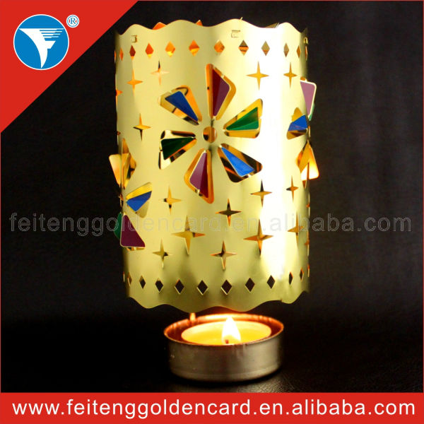 special design of hot spinning metal tea light candle holder with factory price directly(China (Mainland))