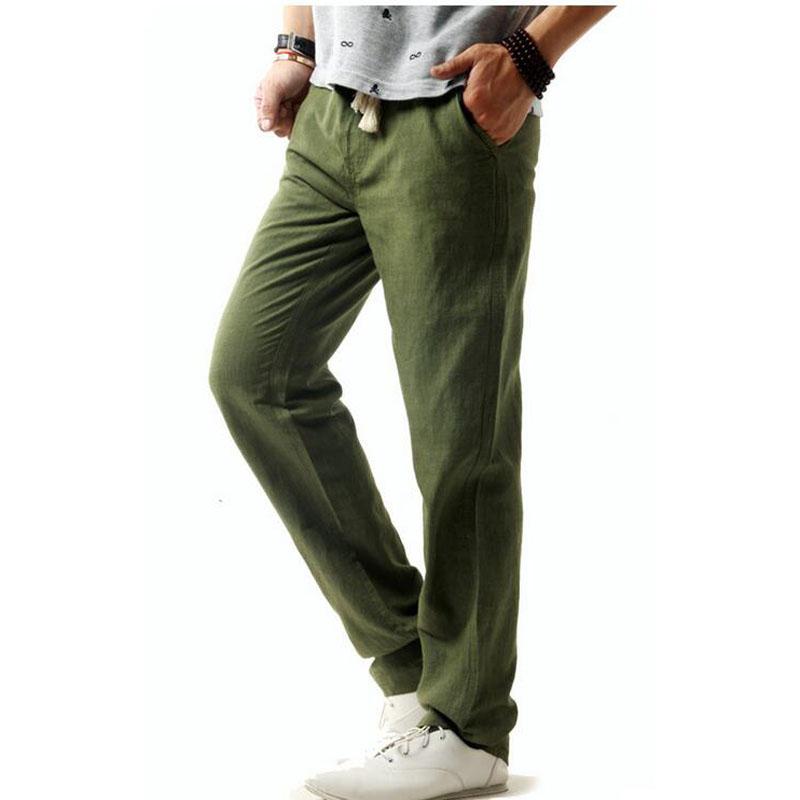 Cheap Linen Pants for Men Promotion-Shop for Promotional Cheap ...