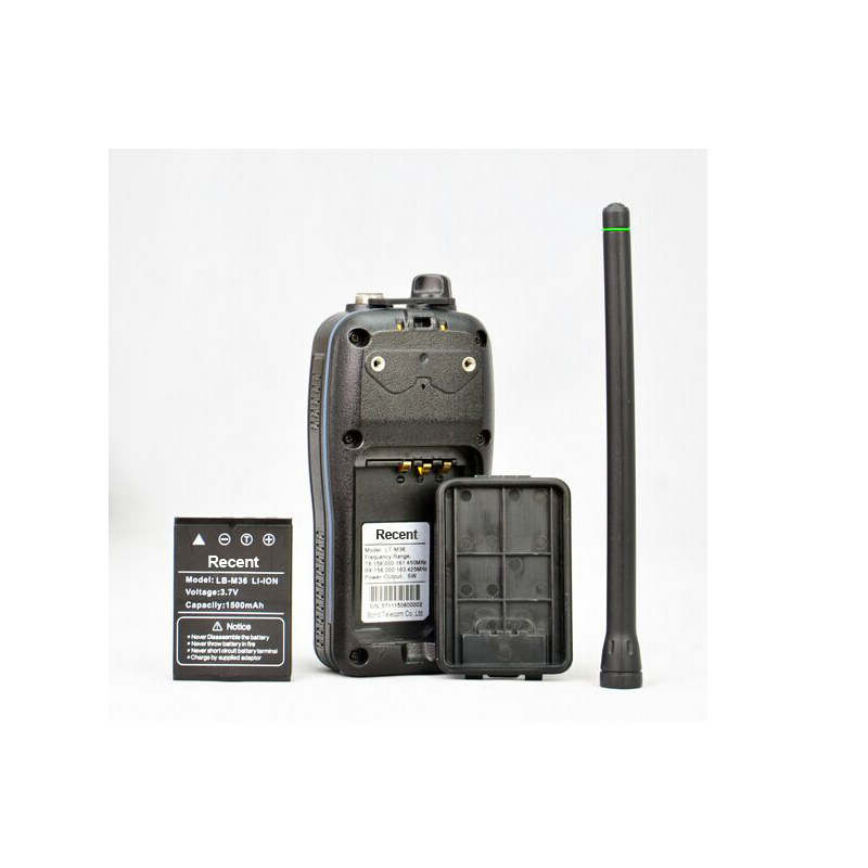 RS 36M 2015 Newest Waterproof IP X7 VHF Handheld Marine Interphone