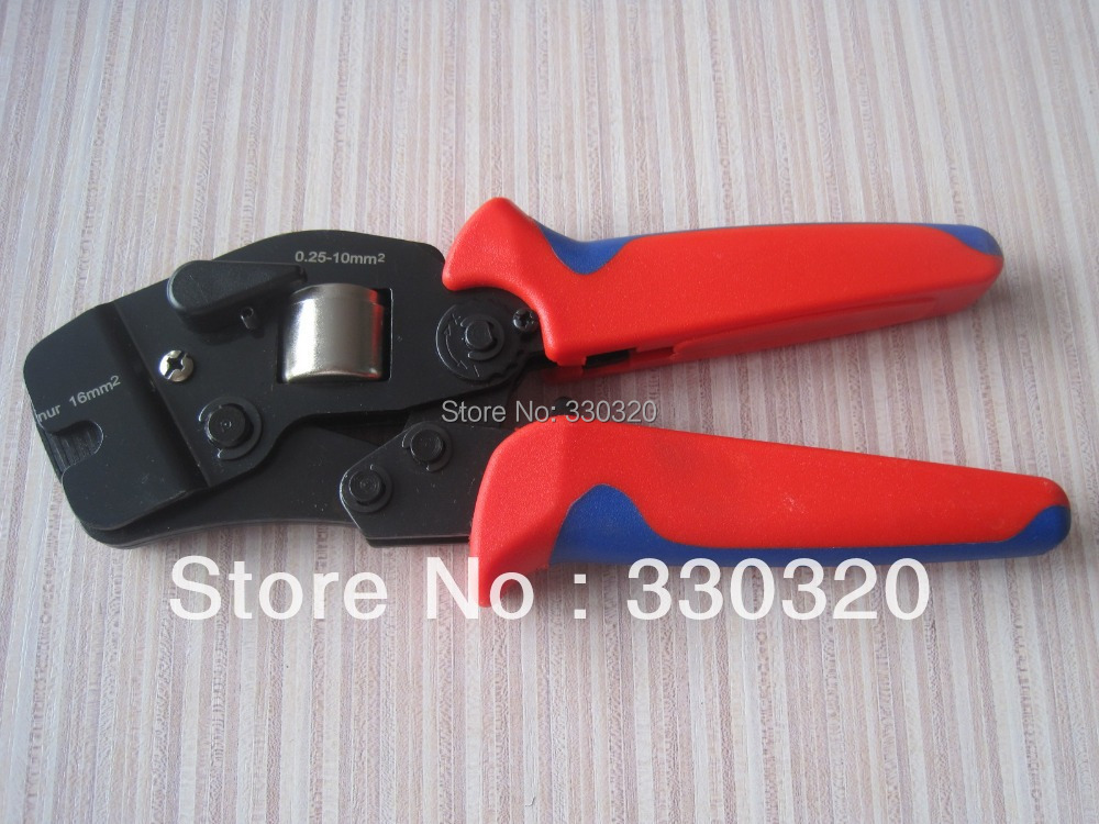 cable end sleeves crimping plier self adjusting ratcheting ferrule crimper 16mm2 c 0816 in. Black Bedroom Furniture Sets. Home Design Ideas