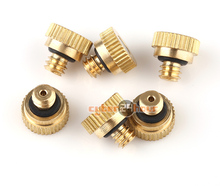 """20pcs Brass Garden Misting Nozzles for Cooling System 0.012"""" (0.3 mm) 10/24 UNC (China (Mainland))"""
