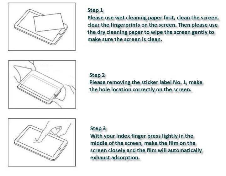 Tempered Glass instruction