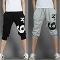 2016 New Summer man Casual Harem Pants Female man Skinny Pants print no 9 casual pants