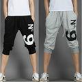 2016 New Summer man Casual Harem Pants Female man Skinny Pants print no 9 casual pants