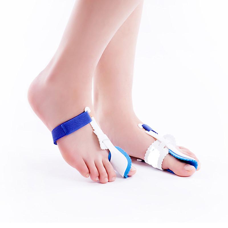 2pcs=1pair Beetle Crusher Bone Ectropion Toe Separator Outer Orthotics Appliance Technology Hallux Valgus Pro Feet Care Massage(China (Mainland))