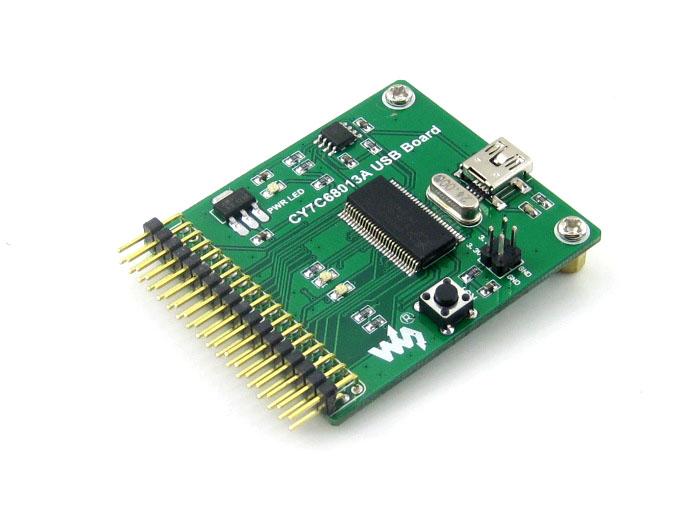 10PCS CY7C68013A USB module communication module development board embedded 8051 microcontroller mini type(China (Mainland))