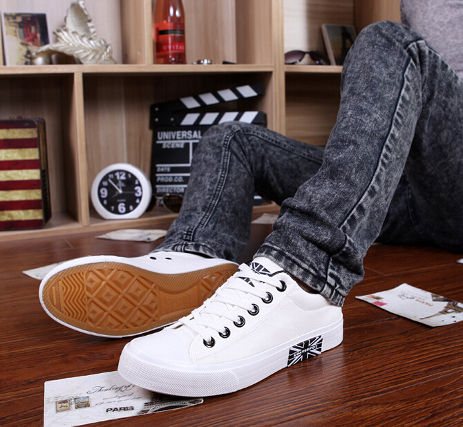 KUANG MING canvas shoes Mens casual shoes Fashion shoes to help low permeability Quality affordable shoes<br><br>Aliexpress