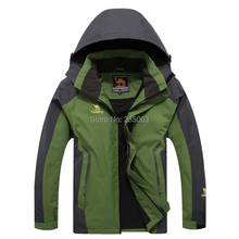 Wholesale 2015 Spring New Coming 7 Colors Hood Sport Windproof Outdoor Jacket Men Sport Breathable Men Jacket Size XL-6XL(China (Mainland))