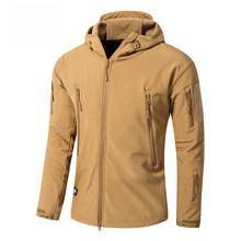 迷彩暖かい服レインコート戦術的なジャケット男性フリースソフトシェルジャケット防水女性ズボン釣りハイキングパンツ(China)