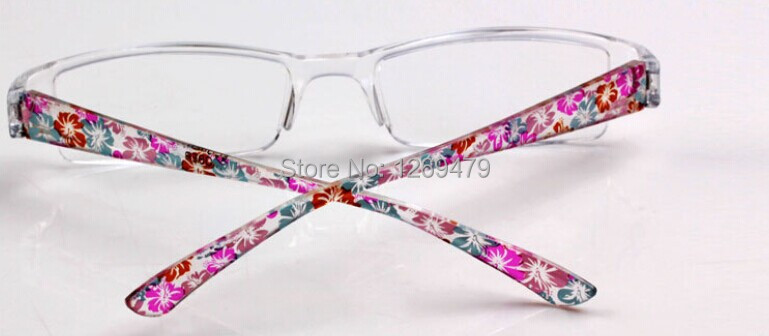 Free Shipping New Fashion Super Light Reading Presbyopic Glasses Peach Blossom Red Eyewear Gift Idea Reader 901(China (Mainland))