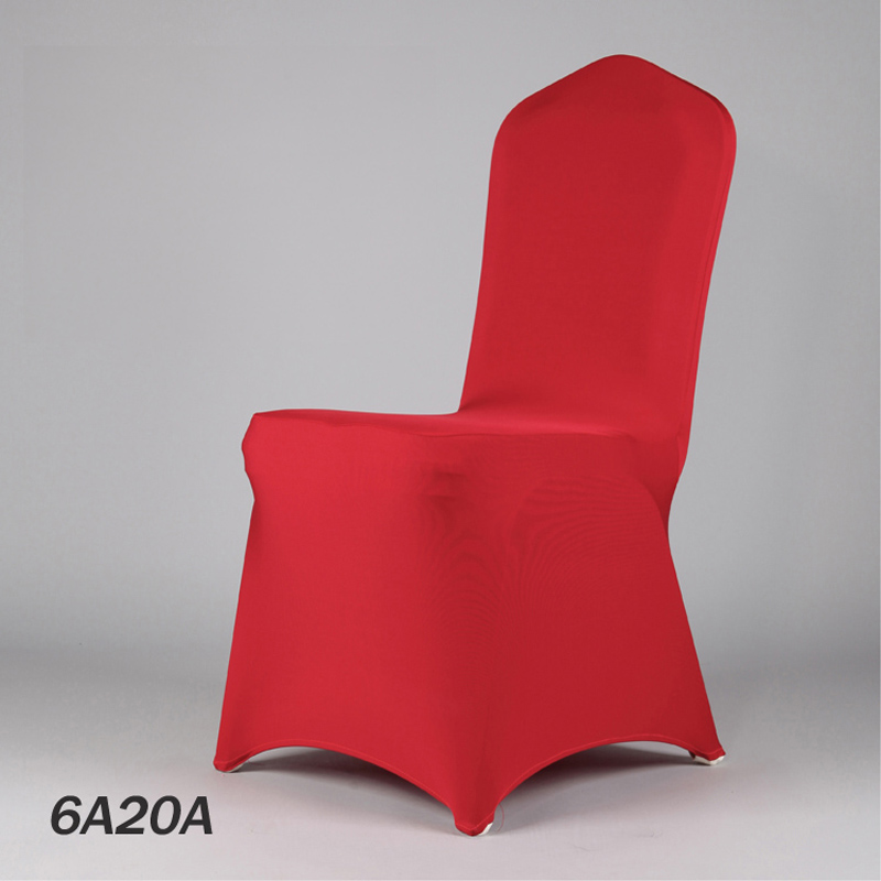 50Color Wedding Chair Cloth Red Banquet Lycra Chair Cover Restaurant Wedding Seat Cover From Manufacturer(China (Mainland))