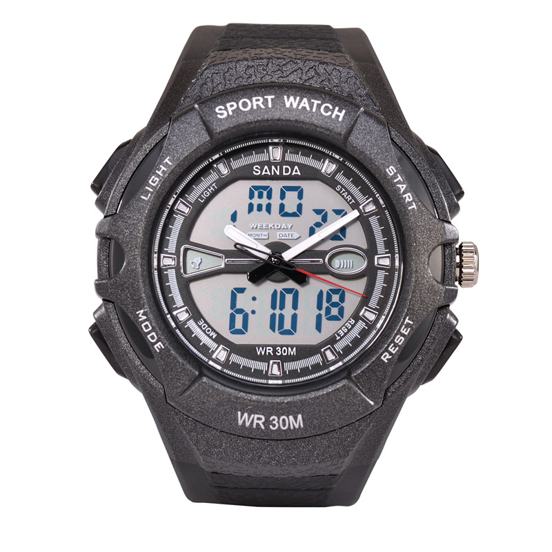 Luxury Brand Men Sports Watches Digital LED Military Watch 30M Waterproof Outdoor Casual Wristwatches Relogio Masculino(China (Mainland))