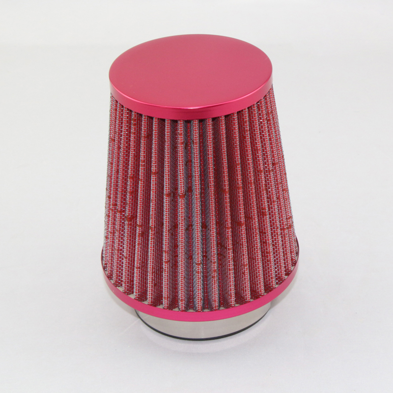 Cars Big Traffic Air Filter Engine Modified Inlet Air Filter Powder Black And Blue Three Colors(China (Mainland))