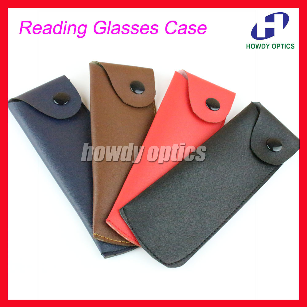 20pcs/lot Free Shipping CQ001 Pu Reading Glasses Bag Pouch Eyeglasses Soft Case(China (Mainland))