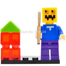 Wholesale Cartoon Mini Figures Minifigures Single Sale Building Blocks 20pcs/lot Superheroes Educational Sets Models Toys