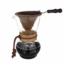 Buy Coffee Maker Set. 1pcs Glass Pot + 1pcs Handheld Flannel Drip Filter FG for $29.60 in AliExpress store