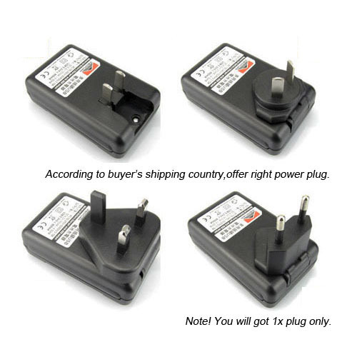 2x 2800mAh Replacement Battery Wall Charger for Samsung Galaxy SIV S4 i9500