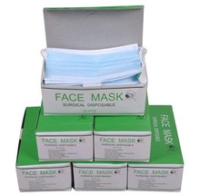 3 genuine disposable masks three layers of non-woven paper dust haze PM2.5 influenza prevention medical cosmetology(China (Mainland))