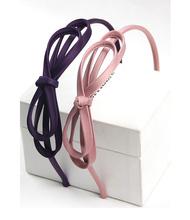 Korean sweet cute bowknot Hair Accessories Colorful Hairbands Hair Hoop 6 colors
