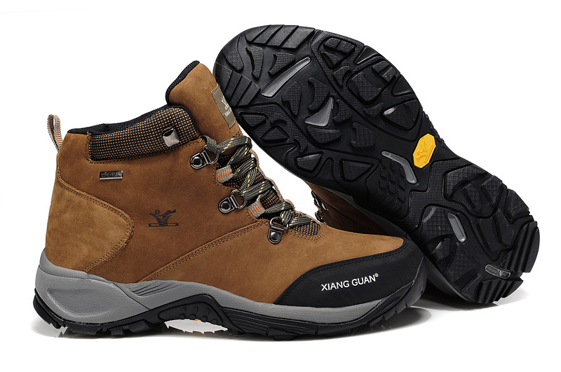 2014 #093 men's genuine leather hiking shoes warm Waterproof boots climbing walking eur:39-44 - katyusha Ada store