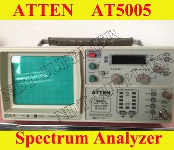 Free Shipping ATTEN AT5005 Spectrum Analyzer 150KHz to 500MHz Spectrum Analyser
