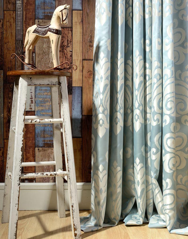 Buy Fabric Luxury Blackout Curtains For