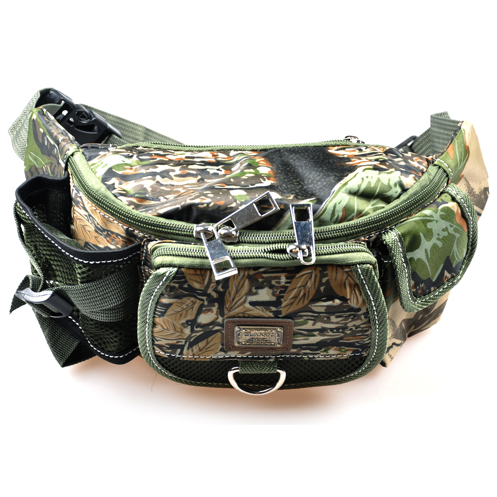 2016 new fishing bag 30x9x14cm multifunctional outdoor for Fishing waist pack