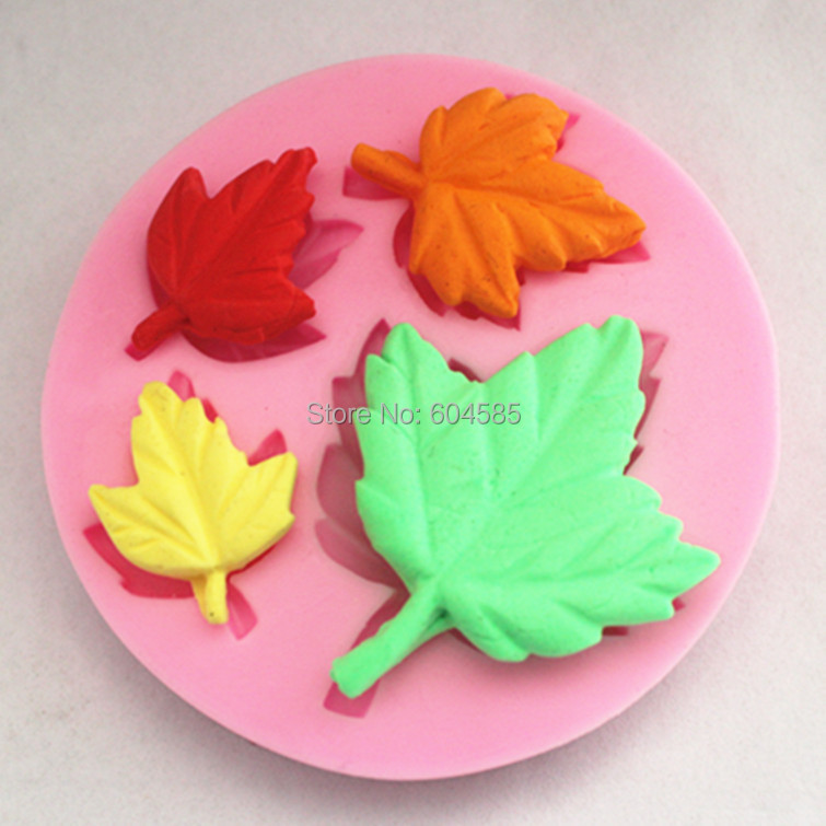 DIY Cake Decorating Buttonwood Tree Leaves Mini Mold ...