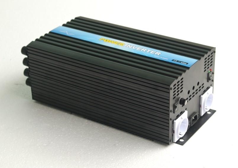 CE&RoHS/SGS Approved, DC12v AC220v-240v 3000w/3kw pure sine wave power invertor/solar invertor/power invertor ,solar system+ DHL(China (Mainland))