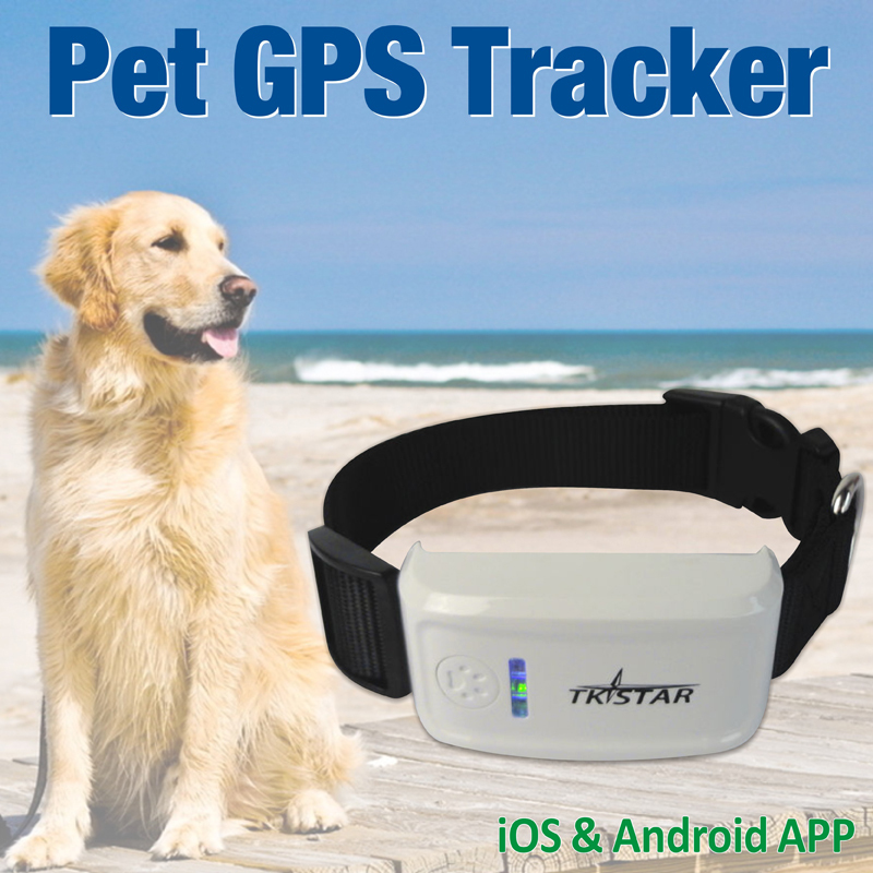 2015 Mini Waterproof GPS Tracker for Dog and Cat Android IOS APP Control Real Time Tracking Long-time Standby(China (Mainland))