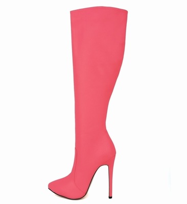 2016 new autumn and winter in Europe and America was thin cylinder stiletto boots female factory direct outlet