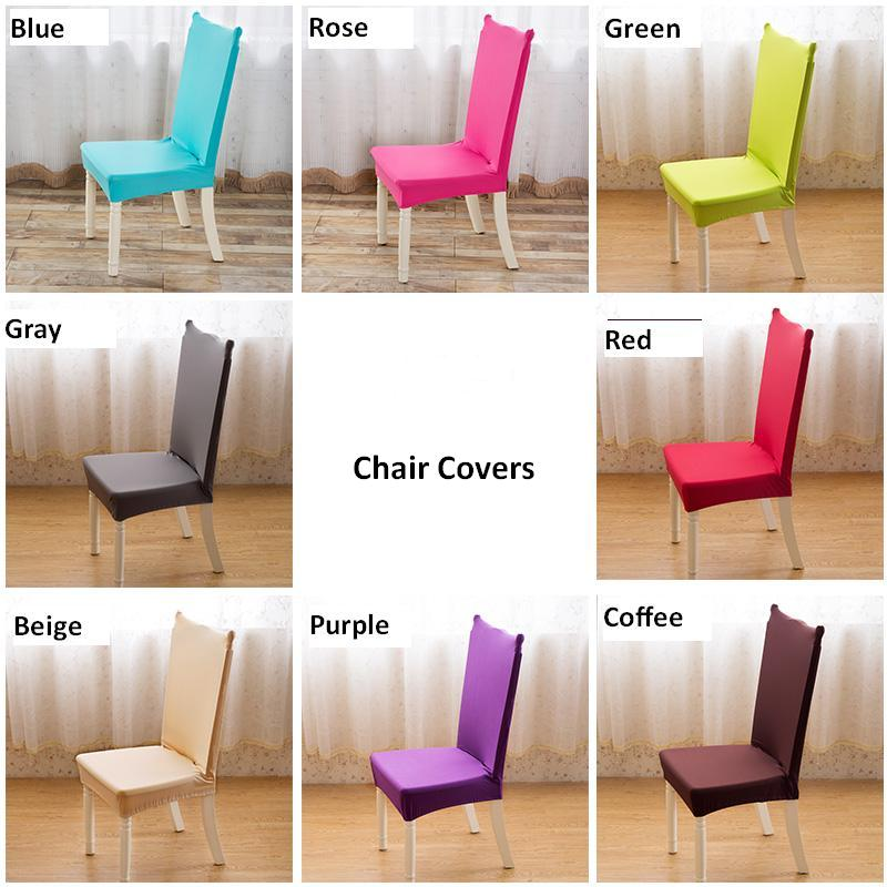4 PCS Universal Chair Cover Super Elastic Dinning Chair